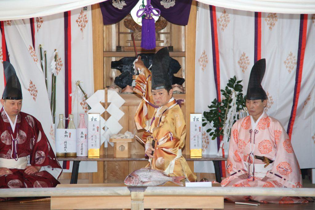 高椅神社包丁式